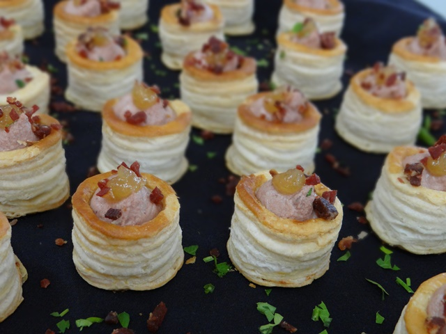 entrantes catering