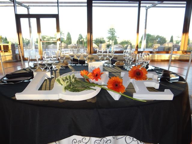 Mesa nupcial Alto del Cenador