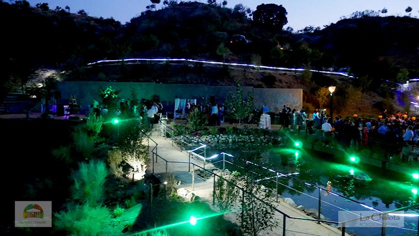 Bodas anfiteatro natural